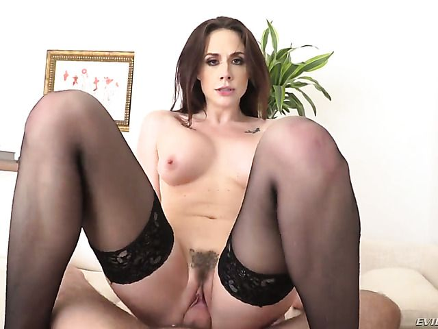 Chanel Preston with big jugs finds her mouth filled with Manuel Ferraras stiff pole before she gets fucked in her back porch