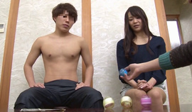 A Japanese Milf And A Young Guy First Met